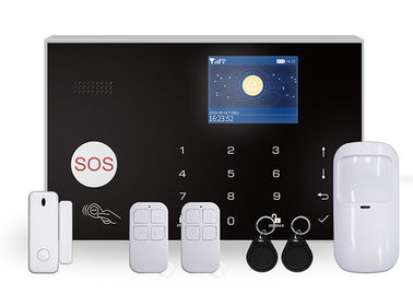 Gsm Tuya Mini Wireless Home Security Alarm System 3 Wired Zones With Ip Camera